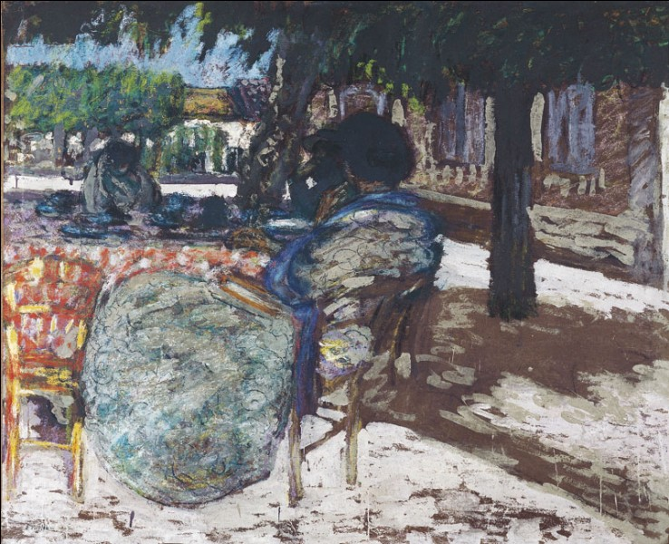 "Qui a peint ""Sous les arbres ?"