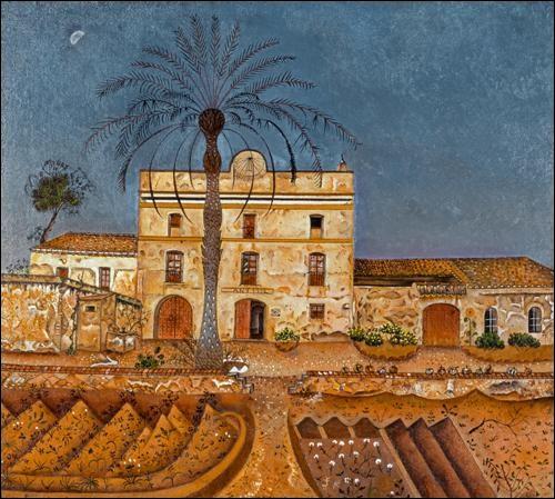 """Qui a peint """"La maison du palmier"""" ?"""