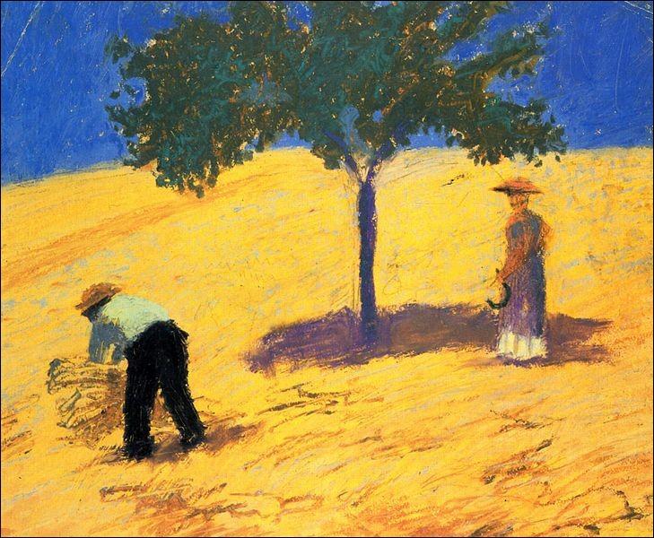 """A qui doit-on """"arbre dans un champ de blé"""" ?"""