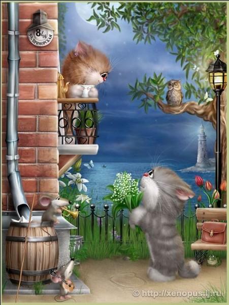 """Qui chantait """"Je suis sous, sous, sous ton balcon comme Roméo, Oh oh, Marie-Christine !"""" ?"""