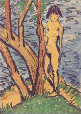"Qui a peint ""Nue devant les arbres"" ?"