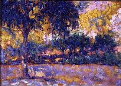 """Qui a peint ce """"paysage avec eucalyptus"""" ?"""