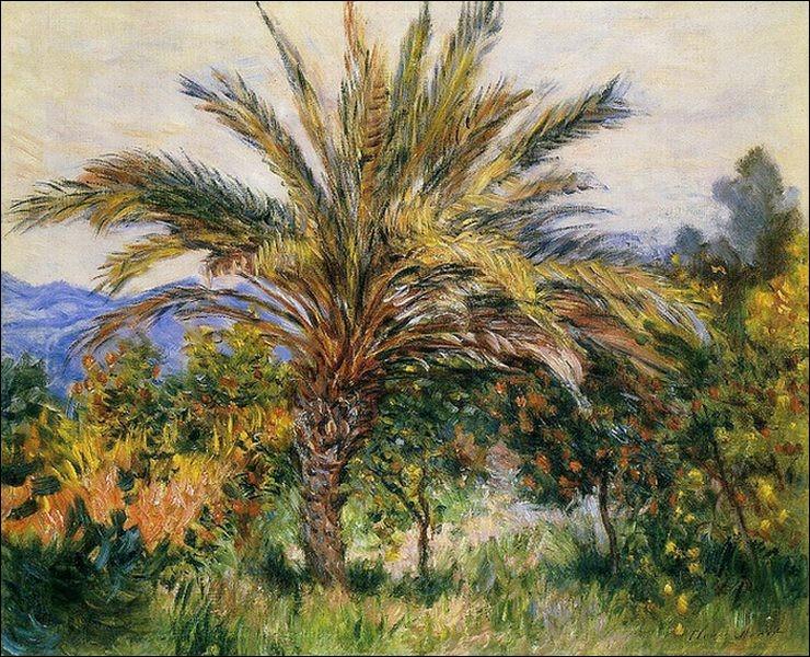 """Qui a peint """"Palmier à Bordighera"""" ?"""