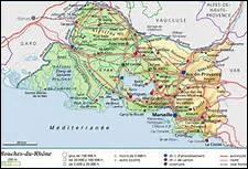 Dans laquelle de ces régions se situe le département des Bouches-du-Rhône ?