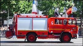 En France, de quelle couleur est généralement la bouche ou borne d'incendie ?
