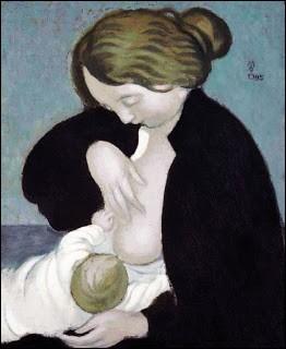 """Qui a peint """"Bernadette et sa mère"""" ?"""