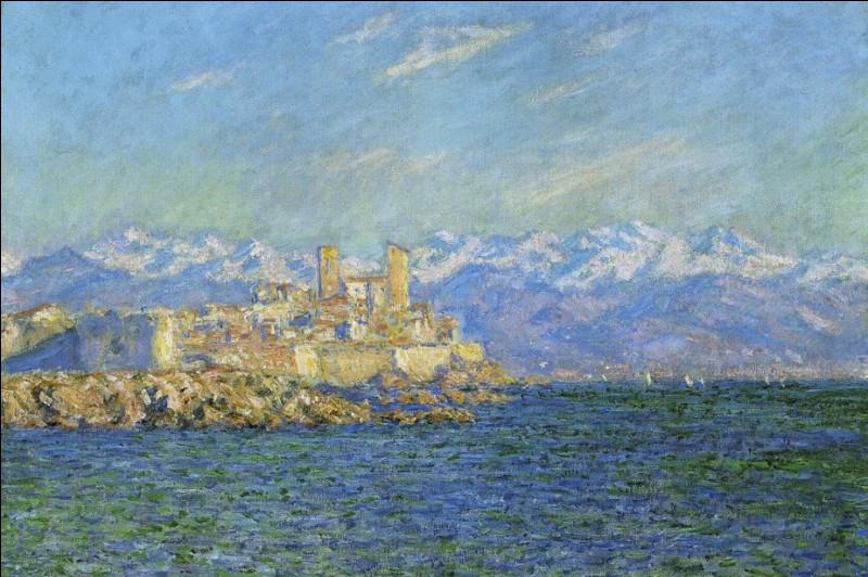 """Qui a peint """"Antibes l'après-midi"""" ?"""
