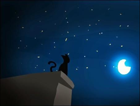"""""""Je regarde le ciel"""" (et c'est ça l'essentiel...) :"""