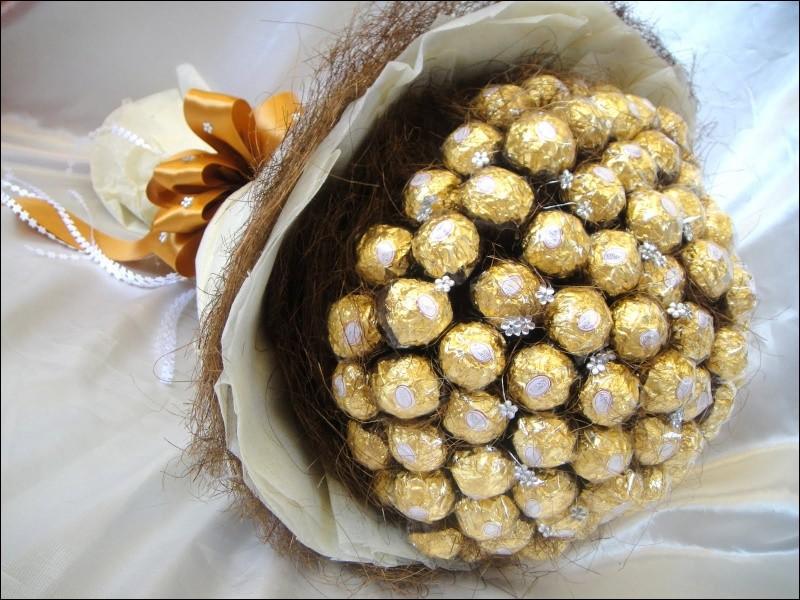 Merveilleuse présentation pour ces chocolats !