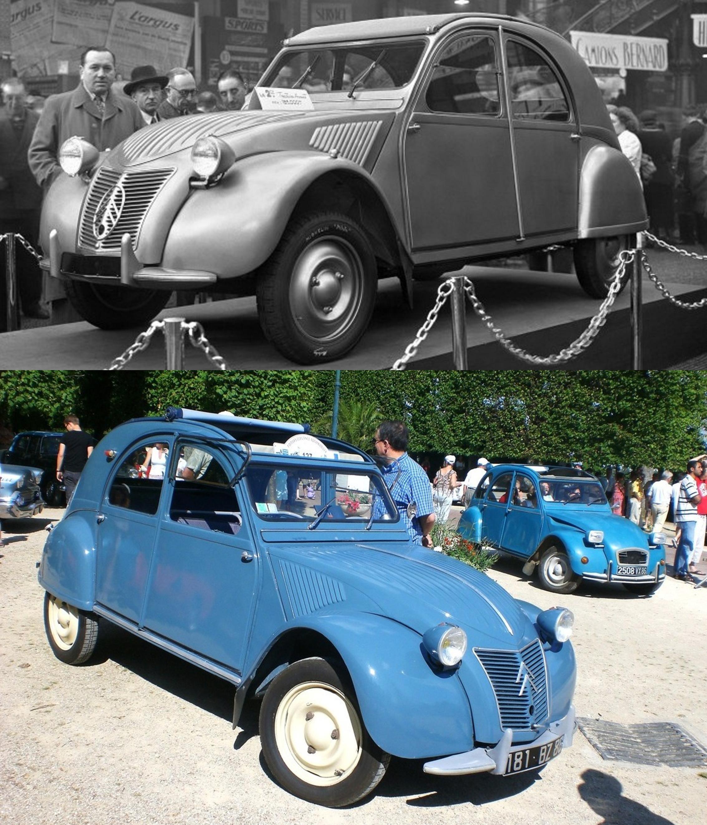 Une voiture de légende, la « deux-chevaux » Citroën !