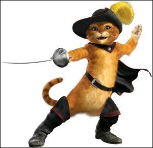 Quel est ce chat en chapeau, rusé, aventureux et maître du maniement de l'épée ?