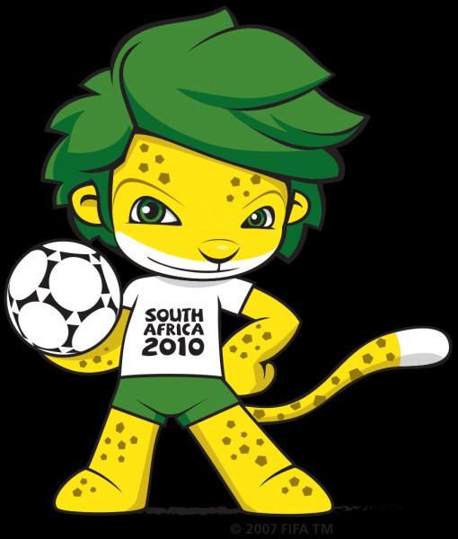 Avez-vous regardé la coupe du monde 2010 (déroulée en Afrique du Sud) ? Si oui, alors vous connaissez sûrement ce léopard aux cheveux verts qui fut la mascotte officielle de la compétition en 2010. Son nom est...