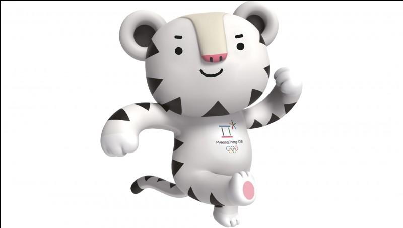 Connaissez-vous le nom de ce gentil tigre blanc qui est l'une des deux mascottes des Jeux olympique d'hiver 2018 ?