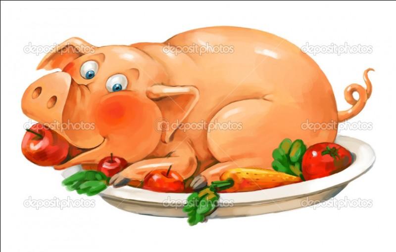 Comment les chinois préparent-ils, en général le cochon ?