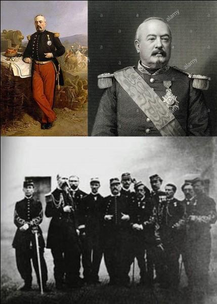 Au XIXe siècle : Il a servi en Algérie, en Espagne, en Crimée et au Mexique, mais, surtout, il est resté célèbre pour s'être rendu lors du siège de Metz. Il sera jugé et condamné à mort pour avoir capitulé en rase campagne, traité avec l'ennemi et s'être rendu.Qui est ce militaire ?