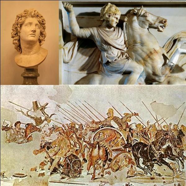 Antiquité grecque : C'est l'un des plus grands conquérants de l'histoire. C'est un des plus grands conquérants au monde ! Ses combats l'amèneront aux frontières de l'Inde.Qui est ce conquérant ?