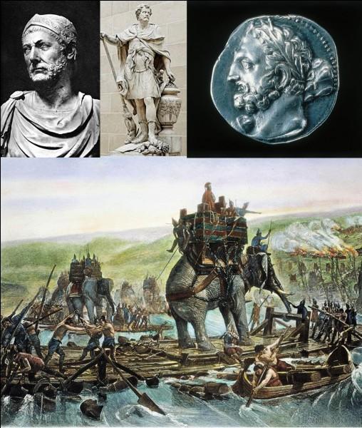 Antiquité romaine : Ce soldat posa de nombreux problèmes aux Romains. Il utilisa une nouvelle « arme » qui fit peur à de nombreux soldats romains ! Malgré tout et malgré ses efforts, il dut endurer la défaite.Qui est ce soldat ?
