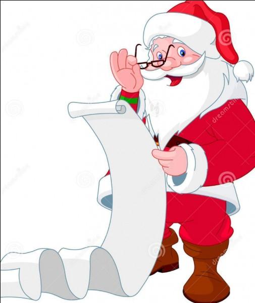 Comment est ta liste de cadeaux ?