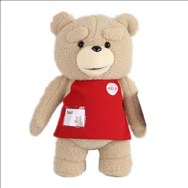 Cet ours a une bonne bouille, tu vas le demander au Père Noël !