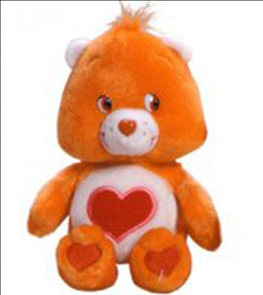 Bisounours orange, quel est son nom ?