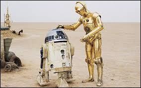 Quels sont les deux droïdes que l'on retrouve dans tous les épisodes ?