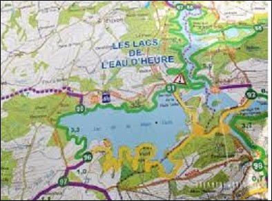 Les lacs de l'Eau d'Heure se trouvent en Belgique.