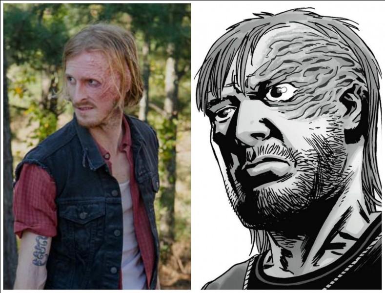 Pourquoi Daryl va-t-il être brûlé au fer ?