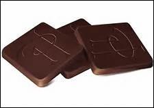 DES CARRES DE CHOCOLAT - Pratique pour couper les petites faims ! Et puis, avec cent euros, que de carrés ! Au fait, connaissez-vous le continent d'origine du chocolat ?