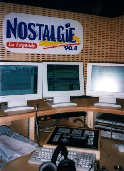 En quelle année a été créée Radio Nostalgie ?