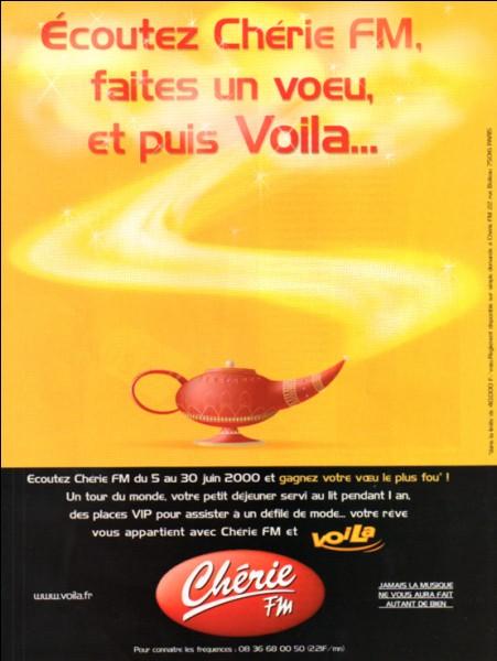 Quel réseau, racheté en 1989, donnera naissance à Chérie FM ?