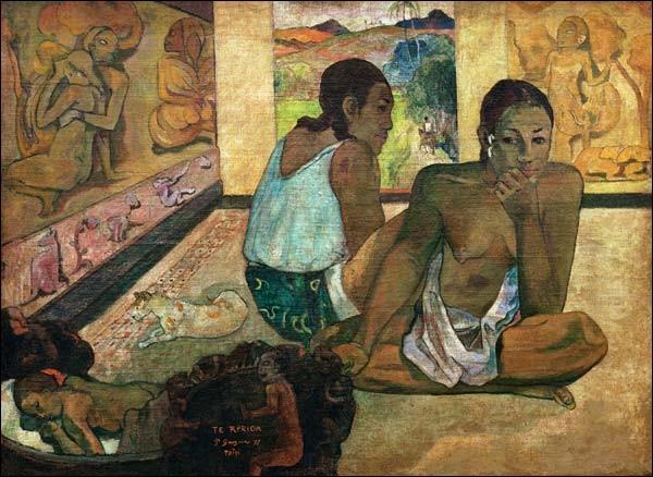 """A quel peintre doit-on cette toile intitulée """"Le Rêve"""" ?"""
