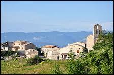 Commune de l'arrondissement de Forcalquier, Sigoyer se situe dans le département ...