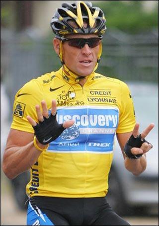 Cycliste , vainqueur à de nombreuses reprises du Tour de France . Qui est-il ?