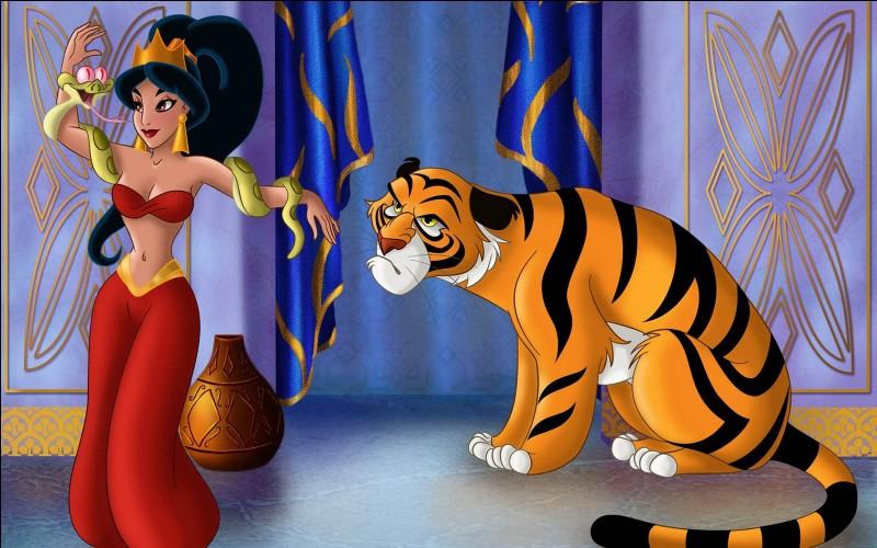 Comment s'appelle le tigre de la princesse Jasmine dans « Aladin » ?