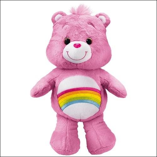 Puis cet ours qu'il a fabriqué en 1985 !