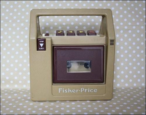 Et puis un jouet signé Fisher Price !