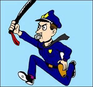 Quel est le comble pour un policier ?