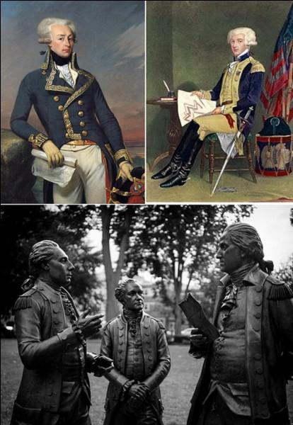 Révolution et 1e Empire : Ce Français fait partie des 8 citoyens d'honneur des Etats-Unis. Il fut, également une personnalité des différents régimes jusqu'à Louis-Philippe.Qui est ce personnage qui a participé à trois révolutions ?