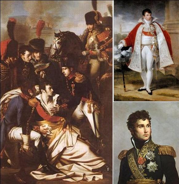 Révolution et 1e Empire : Napoléon 1e, à Sainte-Hélène, dira de lui : « Chez [lui], le courage l'emportait d'abord sur l'esprit, mais l'esprit montait chaque jour pour se mettre en équilibre. Je l'avais pris pygmée, je l'ai perdu géant… »Qui est ce maréchal ?