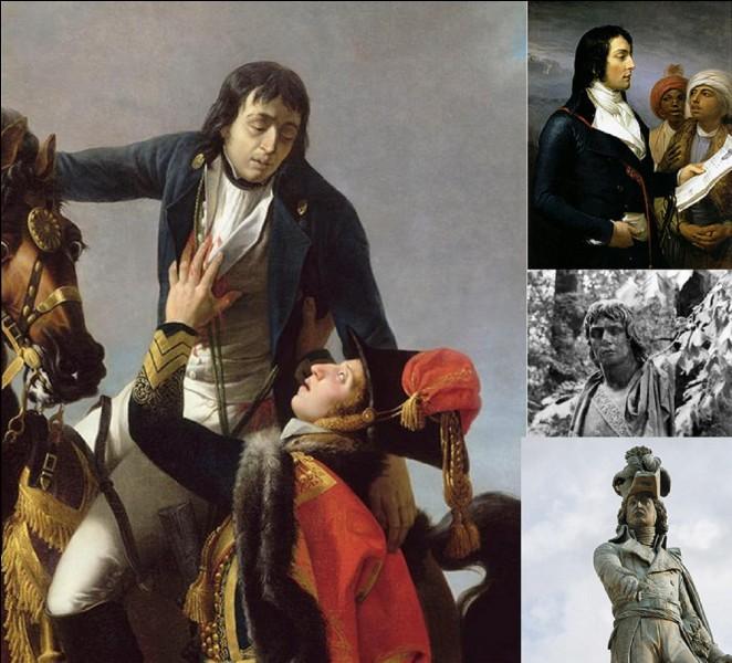Révolution française : Napoléon 1e a dit de lui : « Il est rare et difficile de réunir toutes les qualités nécessaires à un grand général. Desaix possédait à un degré supérieur cet équilibre précieux entre l'esprit ou le talent et le caractère ou le courage ». Il a été surnommé, en Egypte « le sultan juste ».Quel est ce soldat ?