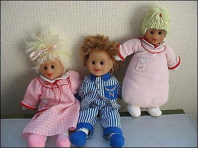 Vieilles poupées de chiffon, ce sont :