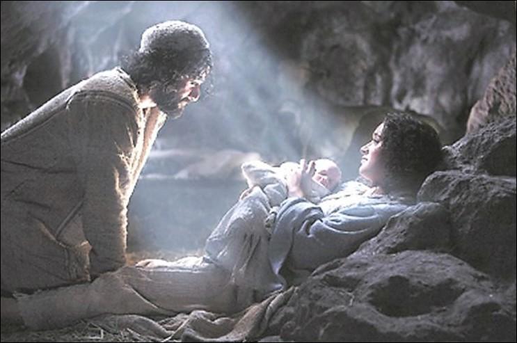 Jésus est né en Palestine.