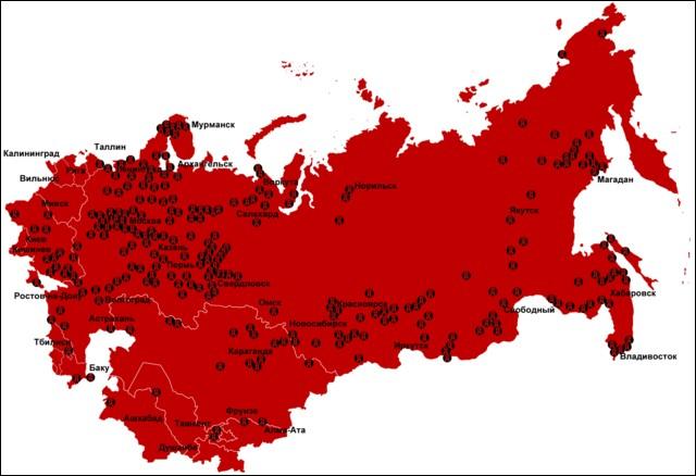 Les goulags, qu'ils fussent soviétiques ou russes, sont d'une époque révolue. Mais depuis quelle date ?