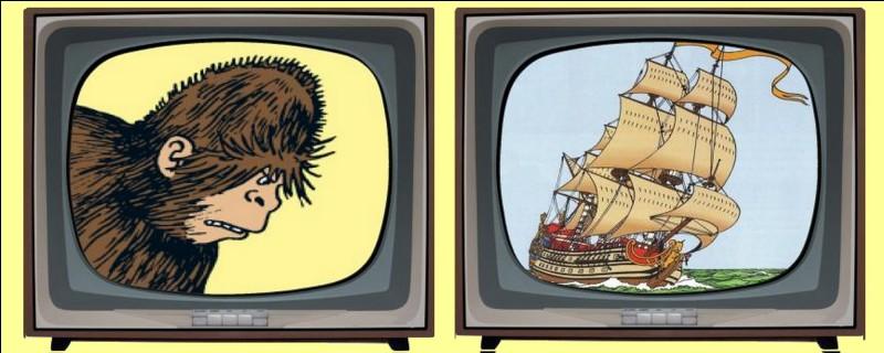 """Qu'est-ce que la """"Licorne"""" dont Tintin perce le secret ? Éteignez la mauvaise télévision !"""
