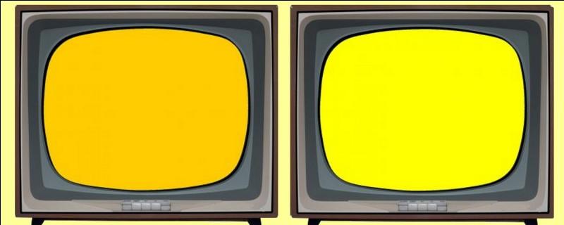 De quelle couleur sont les Simpson dans le célèbre dessin animé ? Éteignez la mauvaise télévision !