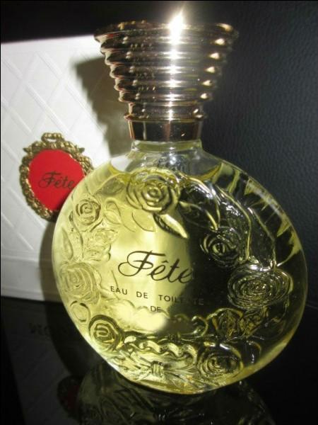 """Qui est le créateur du parfum nommé """"Fête"""" ?"""