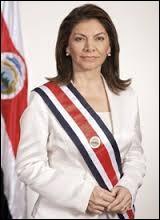 De 2010 à 2014, le Costa Rica a été dirigé par cette femme prénommée Laura et qui portait le même nom qu'un animal de l'ordre des rongeurs :