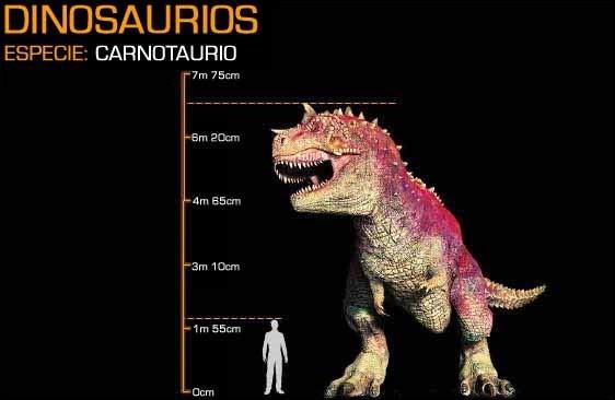 Dans le film, ce dinosaure peut atteindre une longueur de 15 mètres. En réalité, cette espèce atteignait rarement...