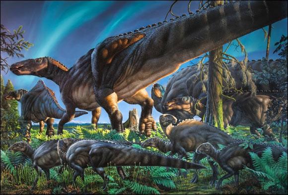 Où a-t-on découvert Ugrunaaluk kuukpikensis ?