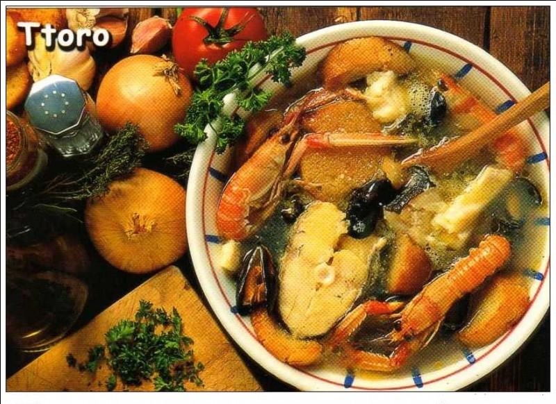"""T - Le """"ttoro"""" est un plat traditionnel catalan."""